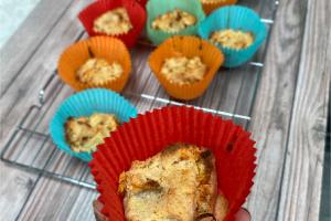 Paleo Carrot Cake Muffin Bites